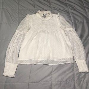 Zara | White Blouse